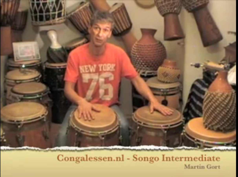 Congalessen Songo Intermediate Martin Gort